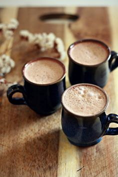 I was trying to think of a fancy name for this hot choccy, but It is, plain and simple, the best hot chocolate! I'm a bit fussy when it comes to chocolate drinks. I don't like them too sweet, and I d
