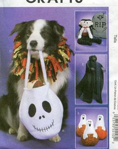 Ghost Bubble Covers 3 Halloween Ghost Sizes Crochet Collector/'s pattern leaflet
