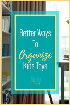 How To Organize Kids Toys In Small Spaces - Best Way To Organize Kids Playrooms and Toys - Kids Toys Organization Ideas Organizing Clutter, Organizing Your Home, Organizing Ideas, Small Space Organization, Kitchen Organization, Organization Hacks, Organize Kids, Playrooms, Clean House