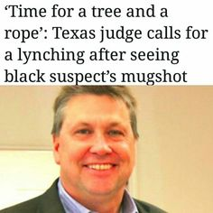 @Regrann from @chididdy26 -  @Regrann from @the_original_people -  A judge in Burnet County Texas is under fire for a racist comment he made on Facebook about a black suspect accused of murdering a police officer.  According to theAustin Statesman County Judge James Oakley is under fire for typing Time for a tree and a rope under a mugshot of accused cop-killer Otis Tyrone McKane who was arrested on Monday in San Antonio and charged with the shooting death of police Det. Benjamin Marconi…