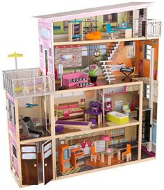 Modern mansion Dollhouses and Mansions on Pinterest
