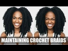 Crochet Braids Unraveled & Styled - YouTube