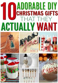 DIY Christmas gifts that people will actually want! Great gifts that you can make at home yourself. Christmas on a budget. How to have a debt free Christmas. Save money and make gifts for Christmas instead of buying Christmas Gifts To Make, Christmas Gifts For Coworkers, Thoughtful Christmas Gifts, Christmas On A Budget, Diy Holiday Gifts, Handmade Christmas Gifts, Christmas Diy, Christmas Presents, Christmas Stuff