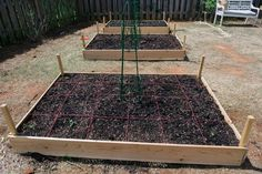 square foot gardening plan square foot gardens are good for getting lots of crops