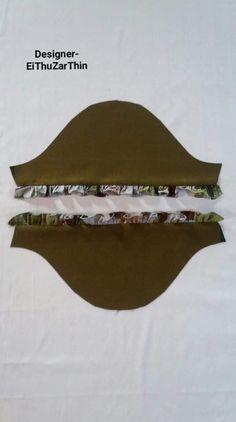 Kurti Sleeves Design, Kurta Neck Design, Dress Patterns, Sewing Patterns, Simple Kurti Designs, Sewing Hacks, Sewing Tips, Hand Designs, Saree Blouse Designs
