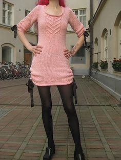 Ravelry: 24. Neulottu naisen mekko pattern by Lucia Biskupska