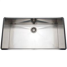 RSS3618SB in Brushed Stainless Steel by ROHL in Santa Monica, CA - Brushed Stainless Steel ROHL Single Bowl Stainless Steel Kitchen Sink
