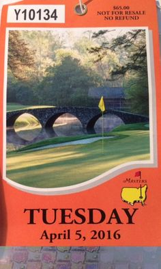 The Scrambler, aka Kevin Lynch, traveled with three friends to Augusta, Georgia, to spend Tuesday's Masters practice round at August National golf club. Kevin Lynch, Golf Course Reviews, Golfer, Scrambler, Golf Clubs, Golf Courses, Golf Course Ratings