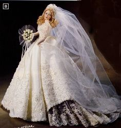 cindy mcclure bride dolls | ... Melody Bride Doll by Cindy Mcclure 1998 Ashton Drake | CINDY MCCLURE