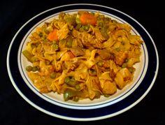 Turkey Goulash #Turkey #Goulash #Cauliflower #Brocolli #Green Peas #Carrots #Food #Food Photography