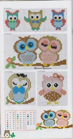 Thrilling Designing Your Own Cross Stitch Embroidery Patterns Ideas. Exhilarating Designing Your Own Cross Stitch Embroidery Patterns Ideas. Cross Stitch Owl, Cross Stitch Animals, Cross Stitch Charts, Cross Stitch Designs, Cross Stitching, Cross Stitch Embroidery, Baby Cross Stitch Patterns, Cross Patterns, Owl Patterns