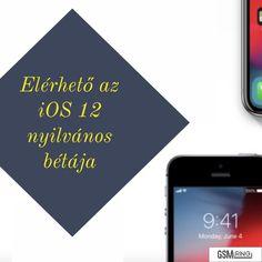 Már telepíthető az iOS 12 béta változata! #iOS12 #Apple Ios, Tech, Apple, Phone, Technology, Telephone, Apples, Mobile Phones