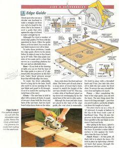 DIY Circular Saw Edge Guide - Circular Saw Tips, Jigs and Fixtures | WoodArchivist.com