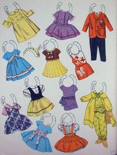 Little Circus Paper Dolls -   Saalfield: (3 of 8)