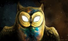 The Cosmic Owl from Adventure Time   by =TurboSolid on deviantart.com