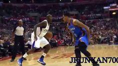 andre iguodala ankle breaking crossover basketball crossover