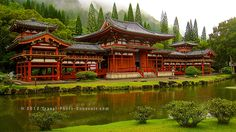 Photograph The Byodo-In temple in Oahu, Hawaii Main Island by Karim Kanoun on 500px