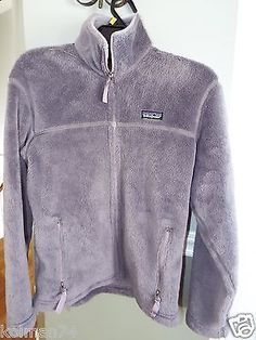 Patagonia Womens Fleece Coat Size M Very Nice Cond Color Purple | eBay
