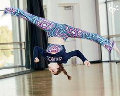 Defy gravity in gymnastics & dancewear that help her reach new heights.