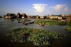Village lacustre de Ganvié, Bénin