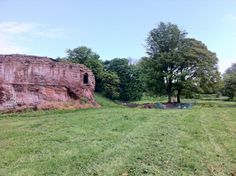 A mysterious crumbled castle, built by the Earl of Surrey following the defeat of the Prince of Wales in Wrexham in 1282 but abandoned during the mid-17th century, is being investigated by archaeologists who believe they could find the remains of five huge round towers which once surrounded the site.   http://www.culture24.org.uk//history-and-heritage/archaeology/art482871-Archaeologists-investigate-east-side-of-once-mighty-13th-century-Welsh-castle