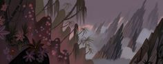 http://animationtidbits.tumblr.com/post/17454518016/samurai-jack-backgrounds