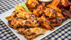 Seasoned with a host of McCormick® spices and a touch of brown sugar, these wings grill up crispy and juicy. Toss with your favorite chicken wing sauce and serve with celery sticks, carrot sticks and blue cheese dressing. Grilled Chicken Wings, Chicken Pasta, Grilling Chicken, Chicken Rub, Chicken Feed, Bean Casserole, Casserole Recipes, Pumpkin Vegetable, Apple Chicken