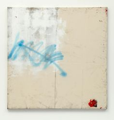 Oscar Murillo - untitled (synthetic trash paintings series), 2011, dirt, oil, spray paint on canvas