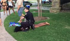 The bikini-clad teenage girl who was forcibly restrained by a police officer responding to a disturbance at a pool party in a Dallas suburb over the weekend says she was an invited guest and was obeying his orders to leave when he grabbed her. Bikini Clad, Elementary Teacher, Black People, Social Justice, Weekend Is Over, Police Officer, Black Girls, Youtube, Buzzfeed News