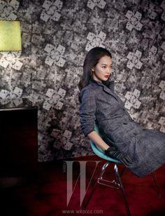 Shin Min Ah on the Cover of W Korea September 2011