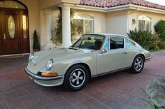 Cars - Previously Sold - Porsche 911 - 1973 911S Coupe - Beige Grey - CPR Classic