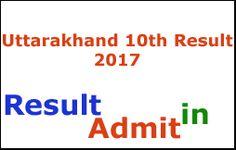 Uttarakhand 10th Result 2017