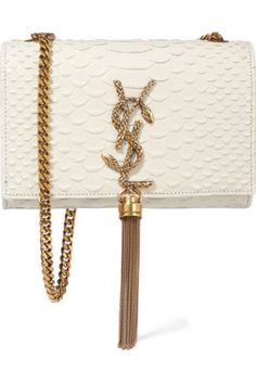 the perfect bag | snakeskin ysl bag