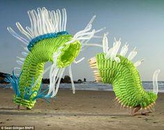 Esculturas contemporáneas gigantes. | Quiero más diseño