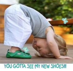 The feeling when you find a great pair of new shoes that feel good too! We have some great ones at www.ShoeSpaUSA.com