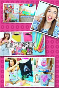 YouTube name is MayBaby she does awesome DIY'S u should go check it out by going on YouTube and typing MayBaby