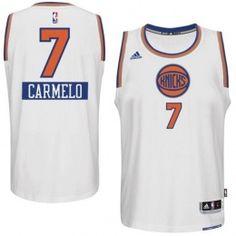NBA ニューヨーク・ニックス ユニフォーム ホーム Adidas #7 カーメロ・アンソニー - サッカーユニフォーム専門店|NBA・MLB・NFL|スポーツ用品通販