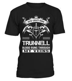 TRUNNELL Blood Runs Through My Veins