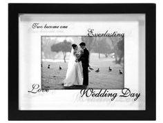 Wedding gift: Malden Wedding reflection shadow Keepsake - 4x6