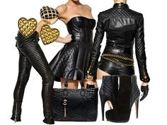 Q - Quilted Sexy Leather Fashion  Quilted leather, sexy and luxurious. Using this technique on leathers, metals and materials with…  View Post shared via WordPress.com