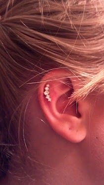 :) New cartilage piercing.
