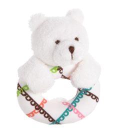 Bear Ring Rattle in Lola, $12.00 | Vera Bradley