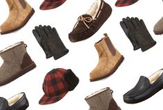 We have to admit, we weren't always the biggest fan of UGGs for men.  Sure, Tom Brady endorsing them made us take a second look, but we still weren't convinced.  Now, however, we're ready to jump on the UGG bandwagon thanks to some additional on-trend pieces we're seeing th… Ugg Boots Sale, Trapper Hats, Leather Slippers, Women's Clothes, Clothes For Women, Ugg Australia, Preppy, Uggs, Fashion Accessories
