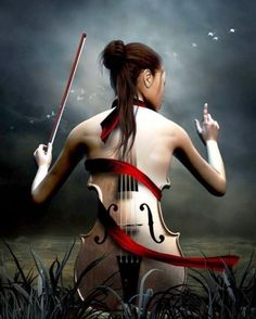The body is an instrument which only gives off music when it is used as a body. Always an orchestra, and just as music traverses walls, so sensuality traverses the body and reaches up to ecstasy.