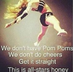 All-Star Cheer! Duh! Only way to do it!