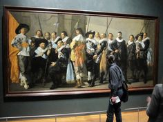 The Rijksmuseum I saw the Night Watch in person there.  Huge and absorbing.