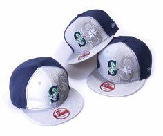 MLB Seattle Mariners Snapbacks Hats Fluorescence New Era 9FIFTY Hats 9218! Only $8.90USD