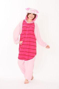 2013 New Piglet Pig Pajama Adult Onesie for Women Men Kugurumi Pajamas Cosplay Anime Costumes Hooded Animal Costume Party Dress-in Scouting ...