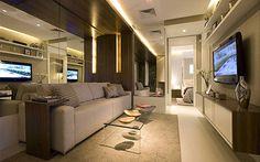 Dicas para decorar adequadamente apartamentos pequenos - Combinação de Cores.