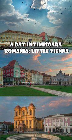 A Day in Timisoara Romania: Little Vienna.